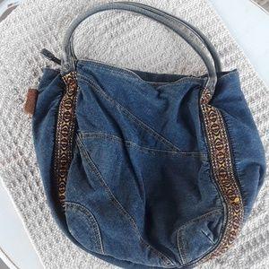 Vintage Lucky Brand Denim Bag
